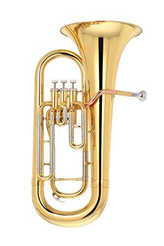 Kaizer Euphonium 2000 Series B Flat Bb Gold Lacquer EUP-2000LQ
