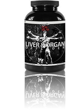 Rich Piana 5% Nutrition Liver & Organ Defender, 270 - Squared 5 Whats