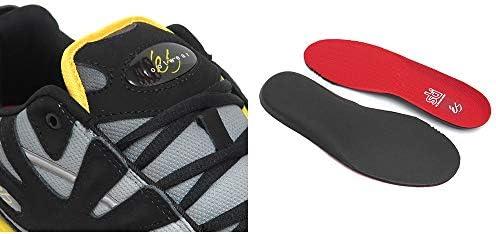 [エス] SHOES シューズ スニーカー SPARTA 黒/黄 BLACK/YELLOW スケートボード スケボー SKATEBOARD