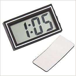 Reloj digital de mesa con pantalla automática, marca la fecha y la hora, dimensiones: 55 x 30 mm: Amazon.es: Libros