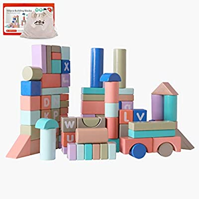 Building Blocks for Young Children, Assembling Toys, Building Puzzles, 1-2 Years Old Baby, 3-6 Years Old Early Education: Home & Kitchen