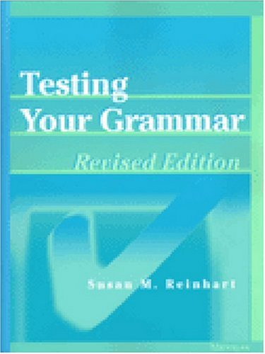 Testing Your Grammar, Revised Edition (Law, Meaning, And Violence)