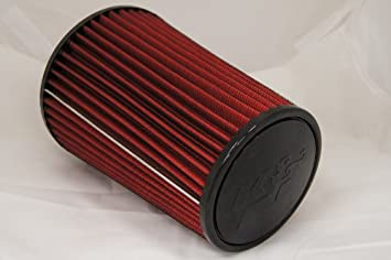 """3 Inches 3/"""" 76 mm Cold Air Intake Cone Replacement Filter RED Chevy"""