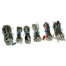Set of 6 Genuine Samsung Home Cinema Speaker Wire Cable