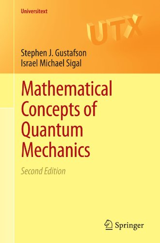 Mathematical Concepts of Quantum Mechanics (Universitext)
