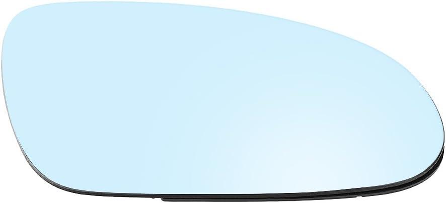 Espejo retrovisor de cristal convexo para puerta, con soporte de plástico y placa trasera, lado del pasajero