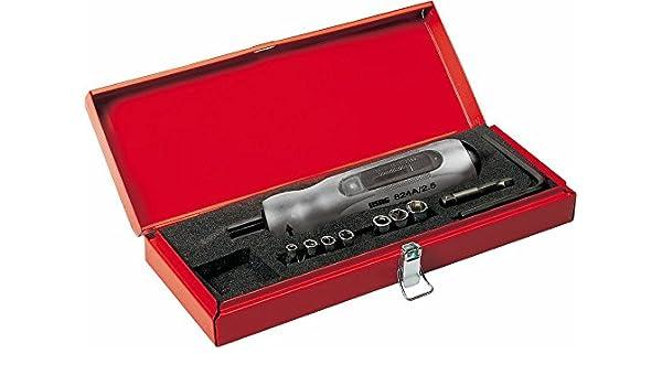 USAG U08240102 - Pack de 9 piezas juego en caja de chapa: Amazon.es: Bricolaje y herramientas