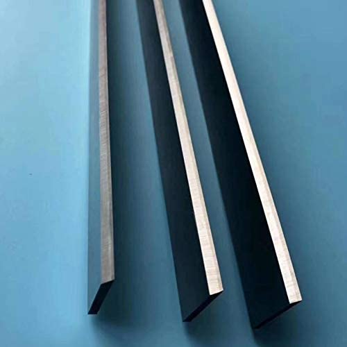 YAOBAO HSS Planer Blades Knives, Carbide Wood Planer Blade, HSS Replacement Planer Knives 2 Cutting Edges, 3 Pieces/Set,150x25x3mm