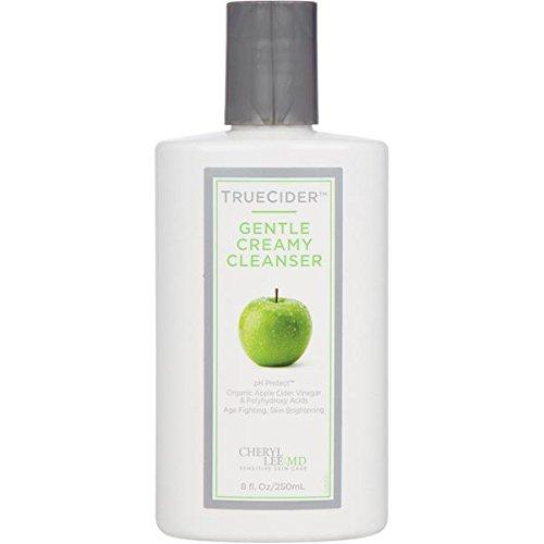 TrueCider Gentle Creamy Cleanser Made with Organic Apple Cider Vinegar