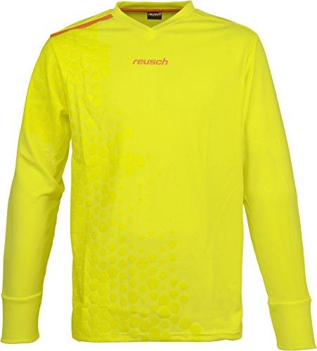 Reusch Goalkeeper Jersey (Reusch Soccer Phantom Goalkeeper Jersey, Yellow, Youth Large)