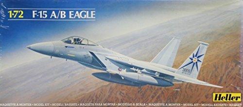 1583938bbd755 Heller 1:72 F-15 A/B Eagle Plastic Aircraft Model Kit #80336