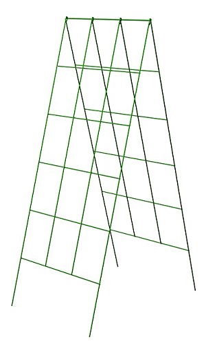 Panacea A-Frame Plant Supports, Green, 48''H, Pack of 10