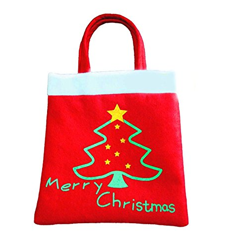 New Year 2016 High Quality Merry Christmas Tree Decoration Santa Claus Kids Candy Bag Home Party Decor Gift To Children (Copter Shop)