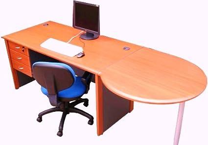 Muebles de oficina ejecutivo PC nueva de escritorio - cerezo ...