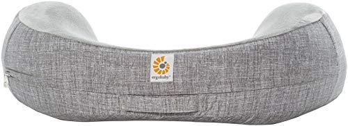Ergobaby Natural Curve Nursing Pillow Cover, Heathered Grey (Renewed)