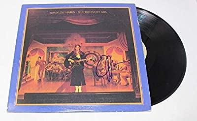 Emmylou Harris Blue Kentucky Girl Authentic Signed Autographed Lp Record Album with Vinyl Loa