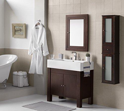 Oak Bathroom Vanity Unit - 6