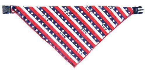 X-Large Stars and Stripes Pet Bandanna