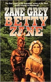 Betty Zane 1st (first) edition Text Only ebook