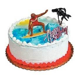 water ski wedding cake topper surfer cake topper kitchen amp dining 21682