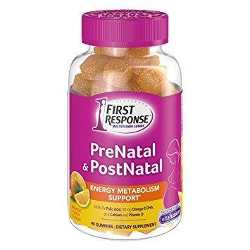 First Response Prenatal and Postnatal Multivitamin Gummy, 90 Count