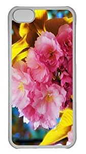 TYH - iPhone 4/4s Case and Cover -Beautiful Flowers PC Hard Plastic Case for iPhone 4/4s Transparent ending phone case