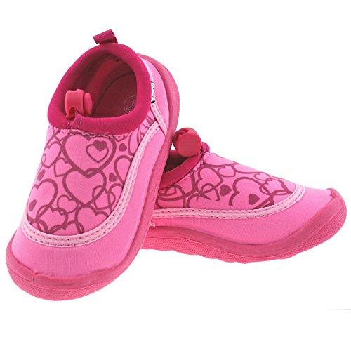 28 SOCKS YELLO 10 FW930 UK AQUA INFANTS GIRLS HEARTS EU BEACH Pink PINK SHOES TURQUOISE aqnUwxY6