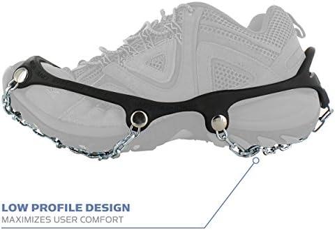 New Yaktrax PRO 360 Ice Traction For Shoes Run Walk Jog Size Medium 9-11