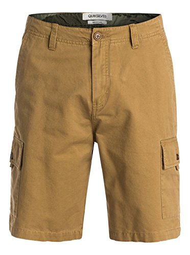 UPC 888701430421, Quiksilver Men's Everyday Cargo Walk Short, Dull Gold, 34