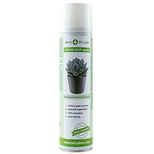 AniPlus - Kieselgur Spray 400 ml für Pflanzen gegen alle kriechenden Insekten und Schädlinge (100% biologisch)