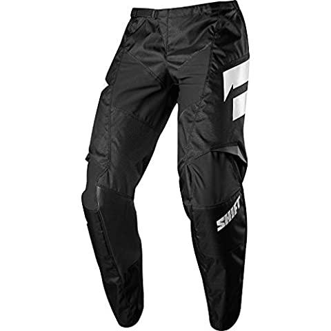 Shift Racing Whit3 Ninety Seven Men's Off-Road Motorcycle Pants - 42 / Black - Mens Off Road Motorcycle