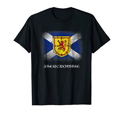 Abercrombie Womens Shirt - Clan Abercrombie T-shirt Coat Arms Lion Scottish Family Name