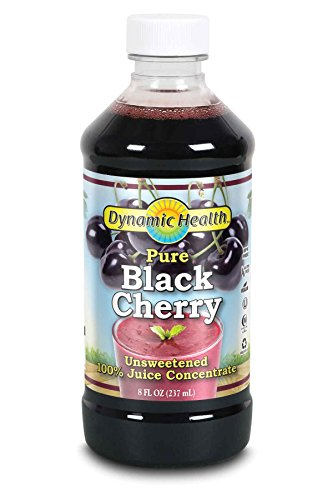 Dynamic Health , Black Cherry Juice Concentrate, 8-Ounce  Bottle, (Pack of 2)