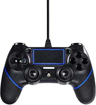 Etpark PS4 Wired Controller for Playstation 4, Professional USB PS4 Wired Gamepad