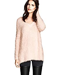 Women's Casual Long Sleeve V-Neck Sweater