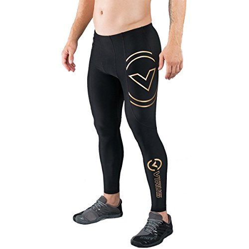 VIRUS Men's Energy Series Bioceramic V2 Compression Pants