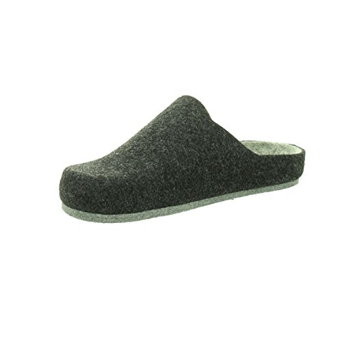 LONGO Men's 1005625 Slippers Grey qqafeXraf8