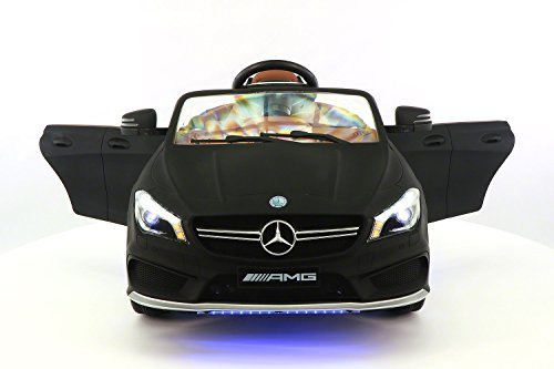 2019 Mercedes G Wagon Holiday Ride On Car - Large Capacity 12V Power Battery Licensed Kid Car to Drive | 3 Speeds, Leather Seat, LED Lights (Best 4 Wheel Drive Cars 2019)