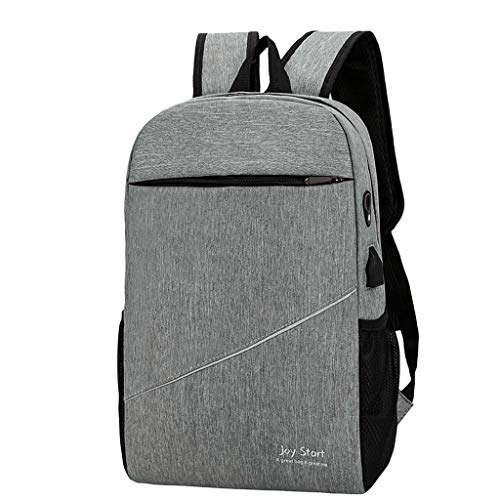 - Treaxer Men'S And Women'S Fashion Female Student Three-Piece Bag Male Business Travel Backpack