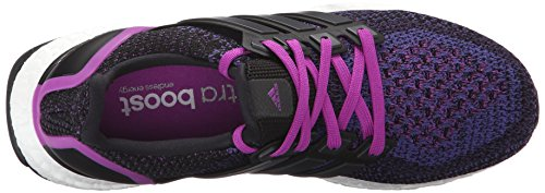 Chaussures De Running Ultraboost W Adidas Pour Femme Noir / Noir / Choc Violet F16