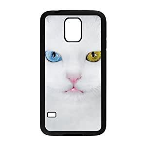 Beautiful Cute Cat DIY Cover Case with Hard Shell Protection for SamSung Galaxy S5 I9600 Case lxa#862315