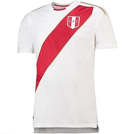 2018 Peru Football Match Jersey Football Fan Style-L Sproud