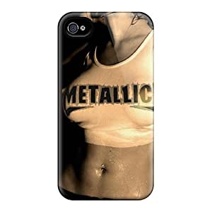 Special Design Back Metallica Phone Case Cover For Iphone 4/4s