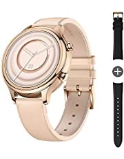 TicWatch C2 Plus 1GB RAM Wear OS by Google GPS NFC Payment IP68 Water and Dust Proof Smartwatch, Two Straps Included, iOS and Android Compatible (Onyx) (C2 Plus Rose Gold-SG)