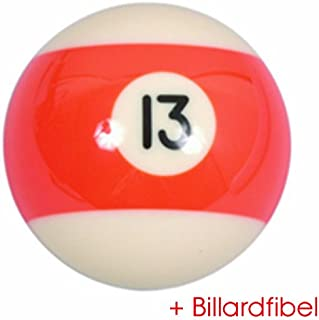 Bille de Billard Americain Pool no.13 diamètre 57,2mm 2-1/4'
