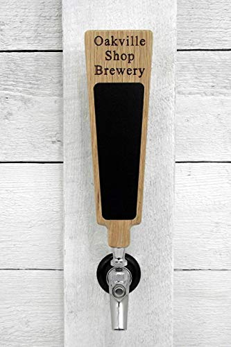 - Custom Personalized Beer Tap Handle with Premium Surface Marker Board. Engraved with Personalized Text. Great for Tap Rooms, Breweries and Home Kegerators