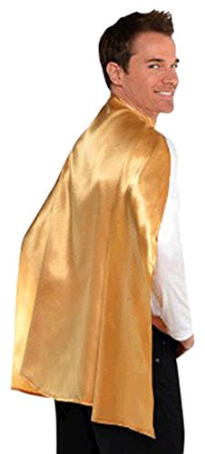 Amscan Cape, Party Accessory, Gold]()