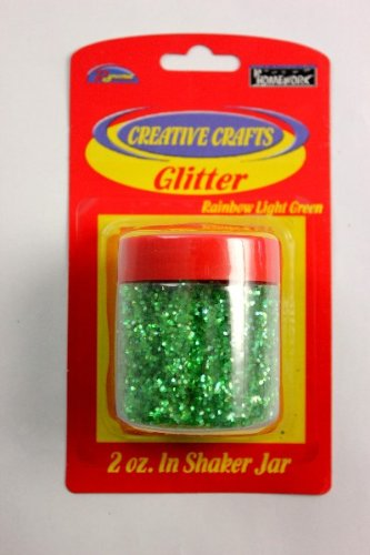 Glitter Shaker- Light Green 48 pcs sku# 1794961MA by DDI