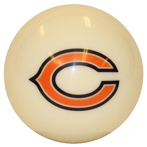 Chicago Bears NFL Official Licensed Billiard Pool Table Cue Ball or 8 Ball