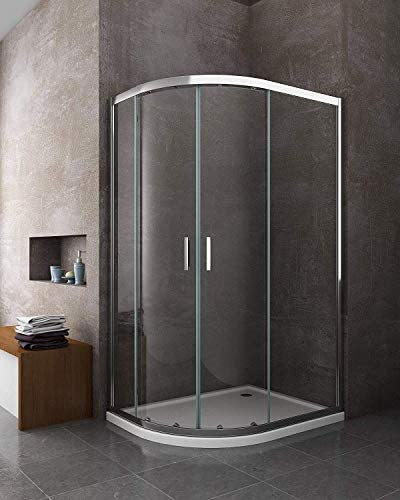 Laneri - Cabina de ducha y plato de ducha de ABS, curva ...